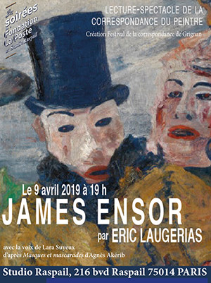 JAMES ENSOR A EMMA LAMBOTTE